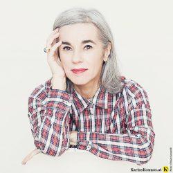 Karin Garzarolli und ihre fünf Vorbilder für graues Haar.