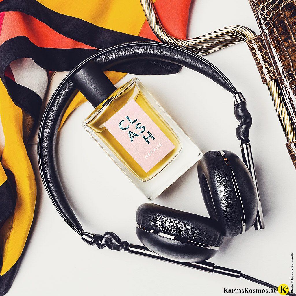 Clash von Meckiie ist das erste österreichische bio-zertifizierte Parfum.