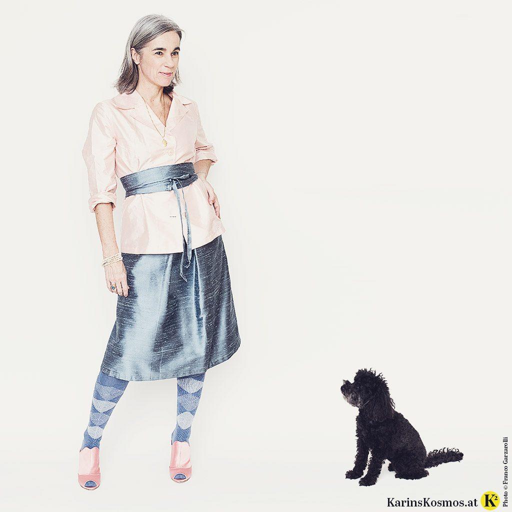 Pastellfarben richtig kombiniert – Karin Garzarolli zeigt, wie das geht.
